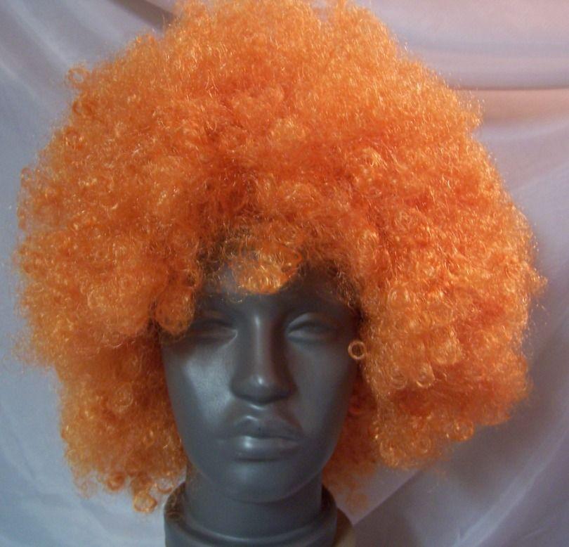 Narancs, óriás afro paróka