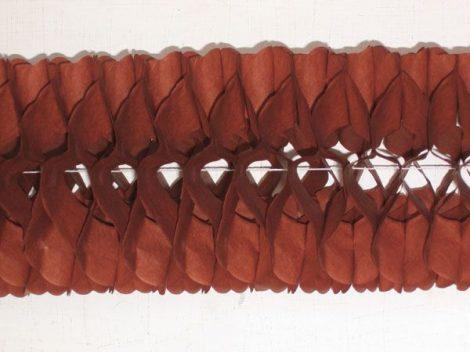 tömött sűrű girland 3 m-es bordó