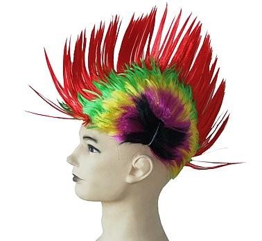 színes punk paróka (többféle színvariáció)