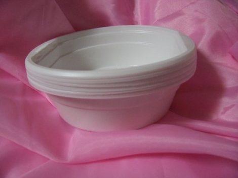 műanyag tányér 0,50 l (10 db)