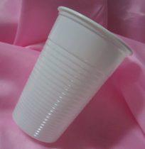 műanyag pohár 3 dl (10 db)