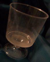 műanyag fehérboros pohár (10 db)