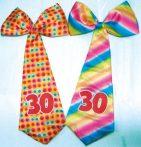 """óriás évszámos nyakkendő """"30"""""""