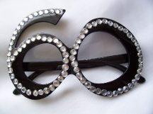 """""""60""""fekete szemüveg"""