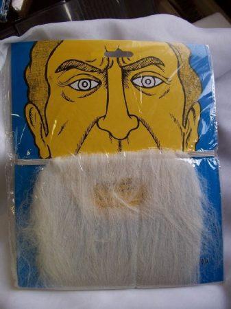 szakál fehér