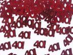 40évszámos konfetti (14 gr.)