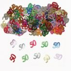50. évszámos konfetti (15gr.)