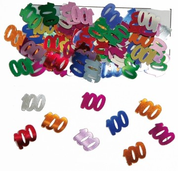 """""""100"""" évszámos konfetti (14 gr.)"""