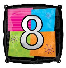 """""""8"""" fólia lufi ( 45 cm)"""