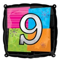 """""""9"""" fólia lufi ( 45 cm)"""