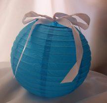 lampion gömb 40 cm-es (kék) szalag nélkül