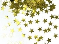 Arany csillag (1 cm-s) konfetti (30 gr.)