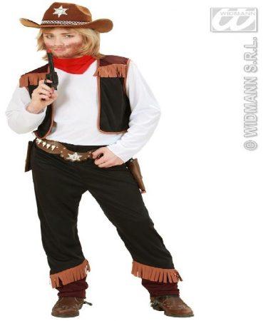 cowboy jelmez (128 méret)