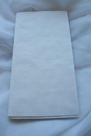 Papírterítő (180*120 cm) fehér