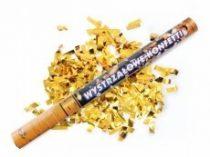 Konfetti ágyú arany konfettivel (60 cm)