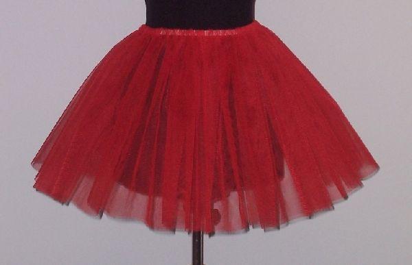 181c8398fd tüll szoknya piros (felnőtt méret) - jelmez,party,dekoráció,jelmezek ...