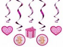 Babás, kislányos 5 részes függődísz (swid3)