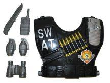 SWAT kommandós szett-gyerek méret