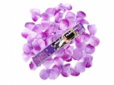konfetti ágyú lila rózsaszirommal (60 cm)