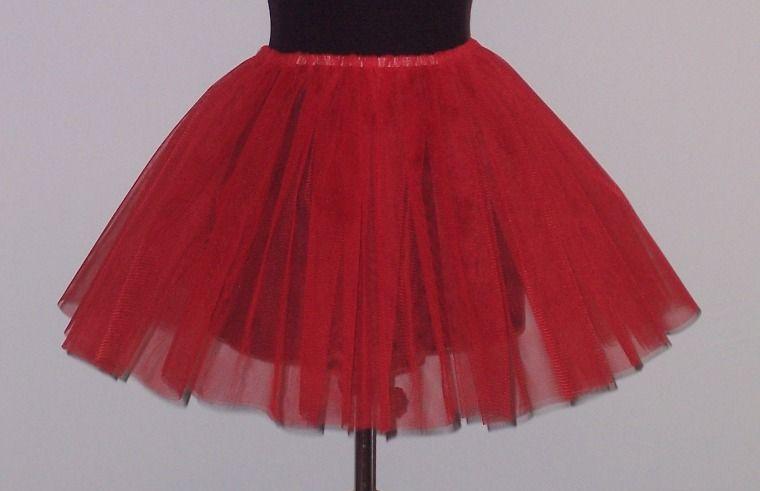 b1ecb76b3c Tüll szoknya piros (gyerek méret) - jelmez,party,dekoráció,jelmezek ...
