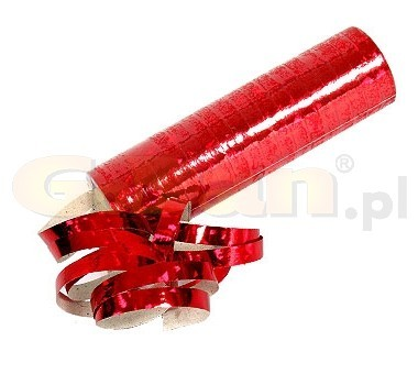 Hologramos szerpentin, piros