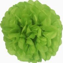 papír gömb / pom-pom (35 cm átmérő ) v.zöld-102j