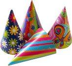 party kalap vegyes 6 db