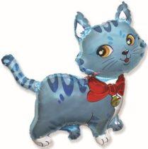 óriás cica lufi, kék