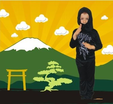 ninja farsangi jelmez (SNINL) 104 méret