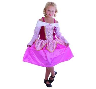 Rózsaszín hercegnő farsangi jelmez (STRTA)- 110-120méret