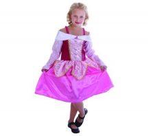 Rózsaszín hercegnő jelmez (STRTA) 120-130 méret