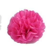 papír gömb / pom-pom (25 cm átmérő ) pink