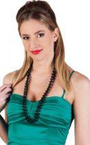 charleston nyaklánc fekete (64302)