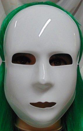 Fehér maszk (65-80)