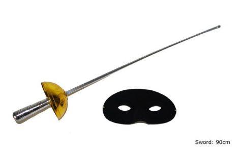 Zorro szett, fényes (50238)