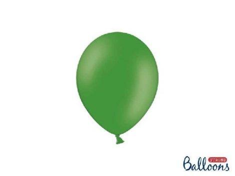 pasztel lufi 27 cm -003 középzöld 50db