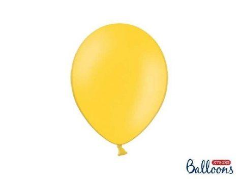pasztel lufi 30 cm -009 sárga 25db