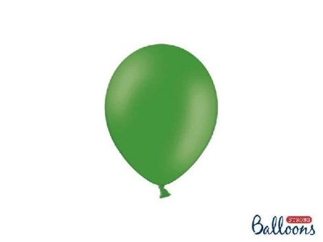 pasztel lufi 30 cm -003 középzöld 25db