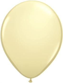 pasztel lufi 30 cm -079j krém 25db