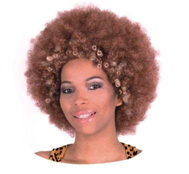 Barna, óriás afro paróka (PY-BRAF)