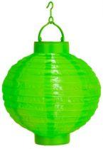 Lampion gömb világító zöld (20 cm)