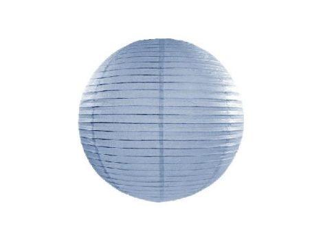 papír lampion 35 cm, vintage kék (093j)