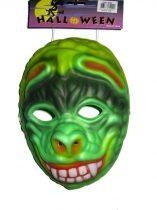 zöld szörny álarc hab