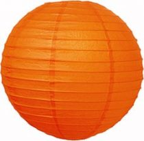 lampion gömb (30 cm) narancssárga