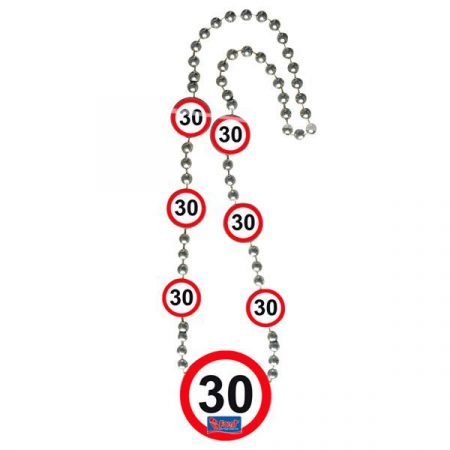 30. évszámos nyaklánc