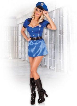 Sexy női rendőr jelmez (M méret)- 83855
