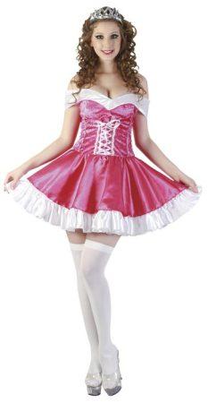 sexy rózsaszín királylány jelmez (M méret) 83614