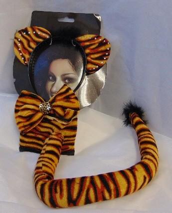 tigris szett (világos) felnőtt