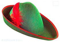 Robin Hood / vadász kalap zöld