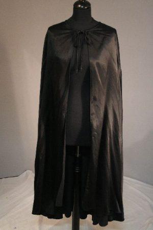 Fekete köpeny (120 cm hosszú) farsangra